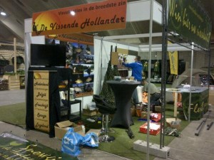 opbouw stand