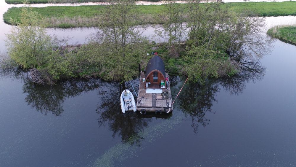 Mobile Pod overzicht polder boven